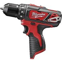 Milwaukee 2407-20 M12 12V 3/8' Drill/Driver (Bare Tool)