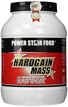 Powerstarfood Hardgain Mass, Schoko, 1er Pack (1 x 2 kg)