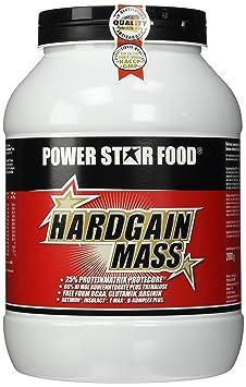 Powerstarfood Hardgain Mass, Schoko, 1er Pack (1 x 2 kg)