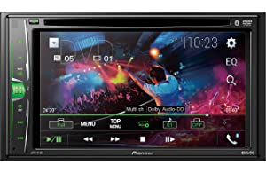 Pioneer AVH-211EX Multimedia Recevier with Bluetooth (Color: With Remote, Tamaño: With Remote)