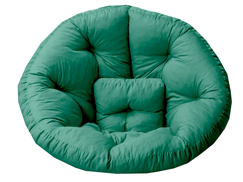 GARDENho.me Magic Seat OCTOPUS Strandgut07 Sitzmuschel, Sitzsack Outdoor XXL, Grün, ca. 215 cm günstig online kaufen