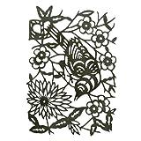 Sizzix Tholtz Thinlits Die Paper Cut Bird (Color: Paper-cut Bird)