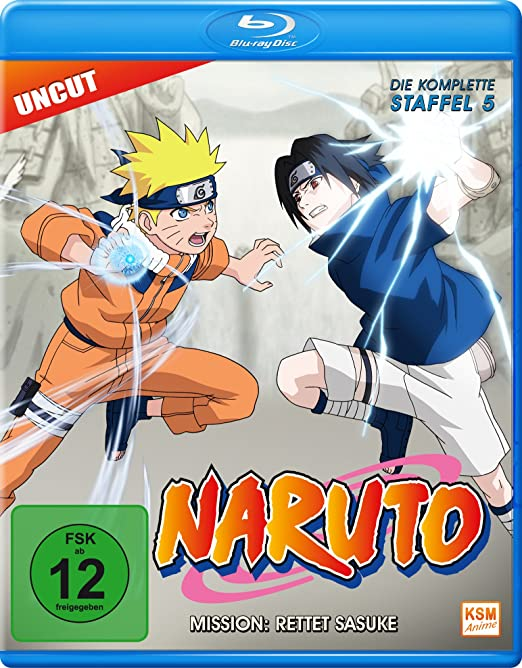 Naruto, Staffel 5 (Blu-ray)
