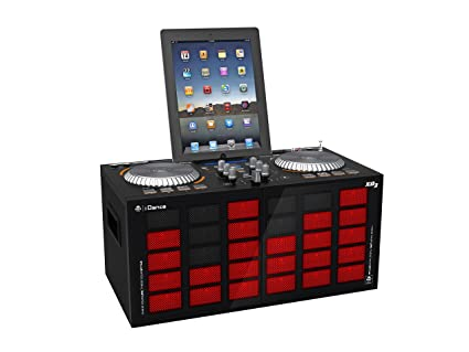 iDance Energy XD3 Système enceinte fader table de mixage Bluetooth USB MP3