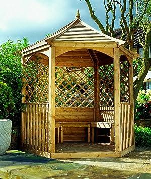 winchester gartenlaube klein gartenhaus aus holz. Black Bedroom Furniture Sets. Home Design Ideas