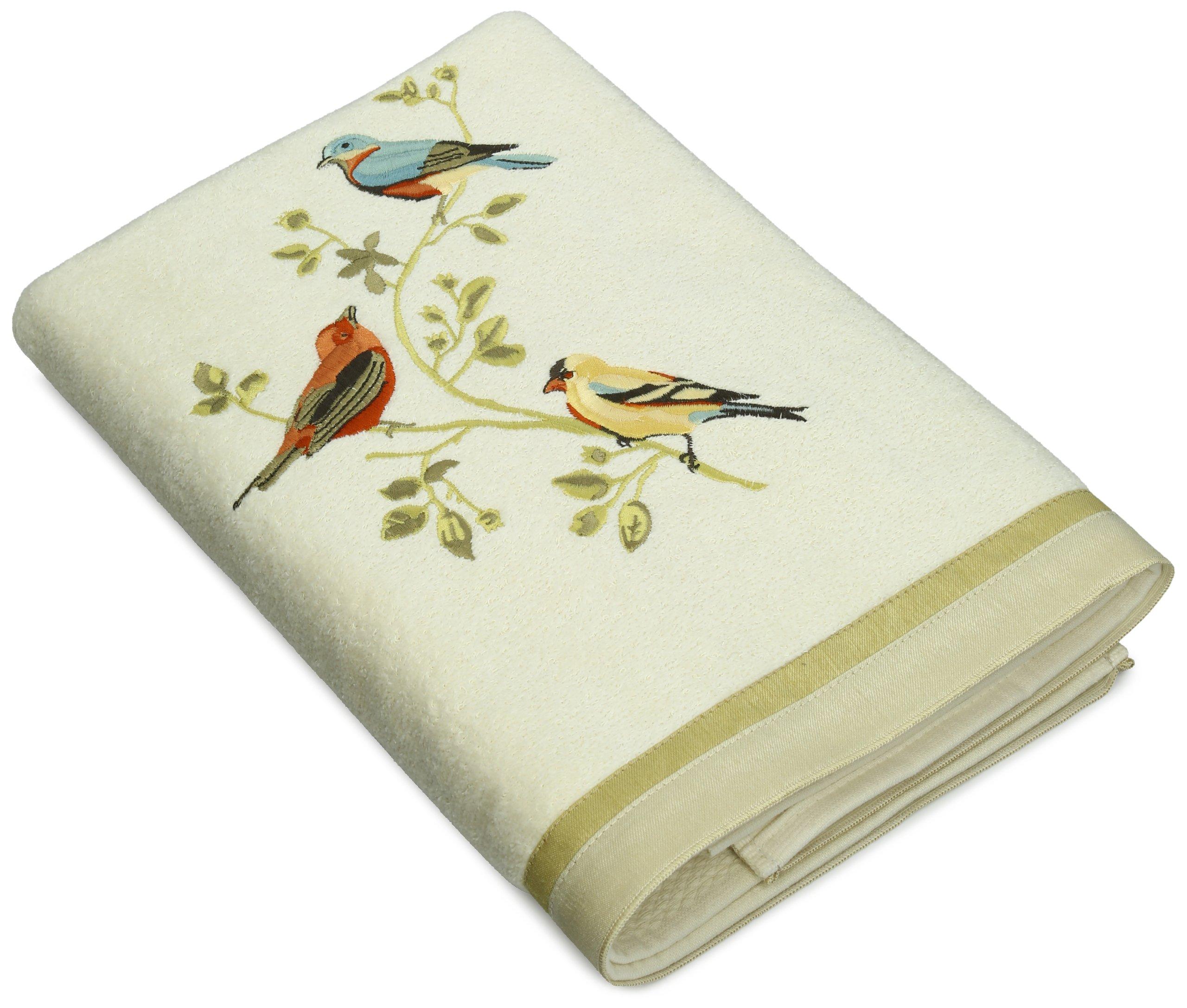 Avanti Linens Gilded Birds Bath Towel