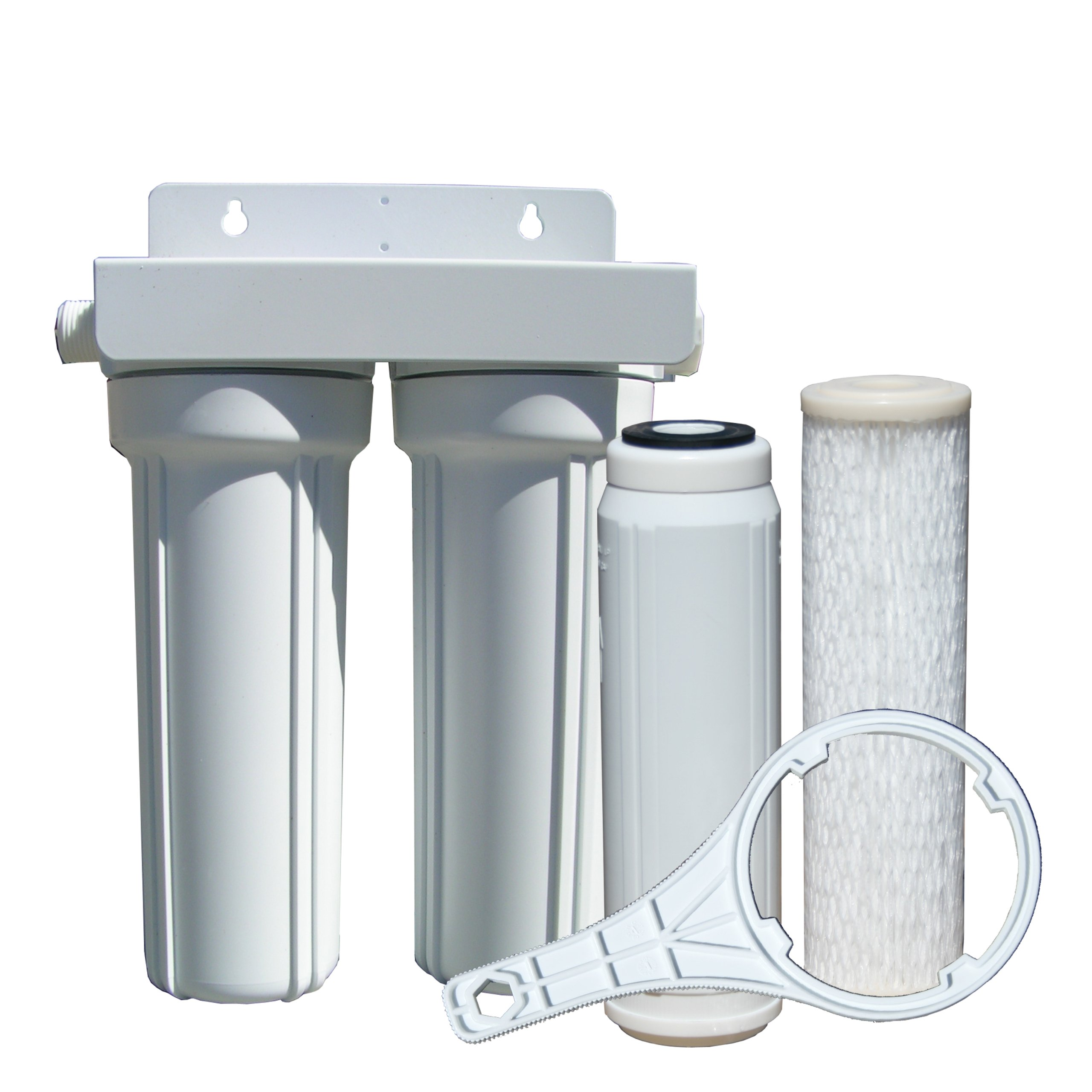 Watts 520022 rv boat duo exterior water filter with garden for Garden water filter