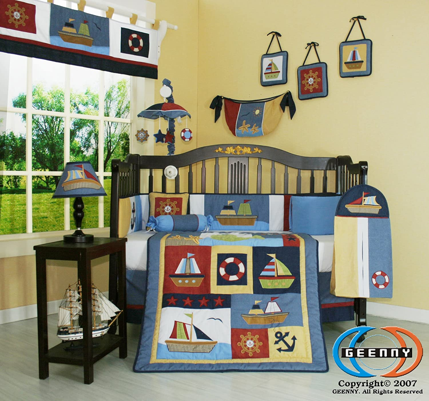 Nautical Infant Bedding: 60 Nautical Bedding Sets For Nautical Lovers