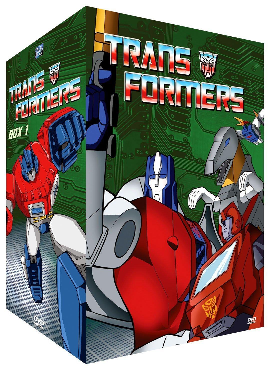 Coffret DVD de Les Transformers (G1) de France par Déclic Images et UFG Junior 81sQEy2dKnS