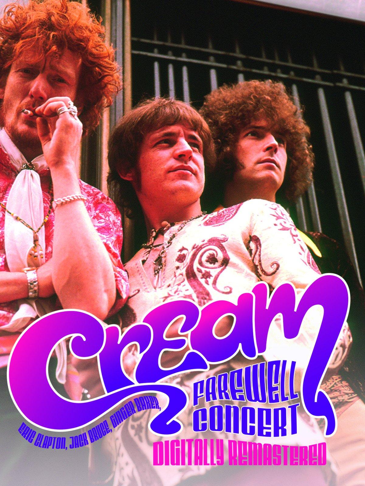 Cream Farewell Concert on Amazon Prime Instant Video UK