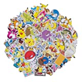 Anime Stickers 200 Pcs Cute Cartoon Stickers for Water Bottles, Laptop Stickers for Teens Toddlers Children, Animal Stickers for Guitar Motorcycle Skateboard Stickers Anime Gift (Color: 200 Pcs, Tamaño: One Size)