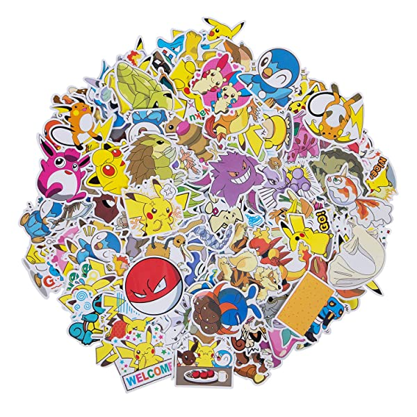 Animal Stickers for Guitar Motorcycle Skateboard Stickers Anime Gift Anime Stickers 200 Pcs Cute Cartoon Stickers for Water Bottles Laptop Stickers for Teens Toddlers Children