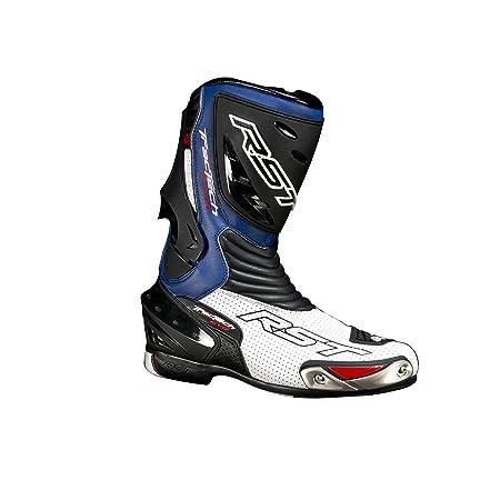 Nouvelle RST Tractech Evo 1516 moto sport course botte bleu