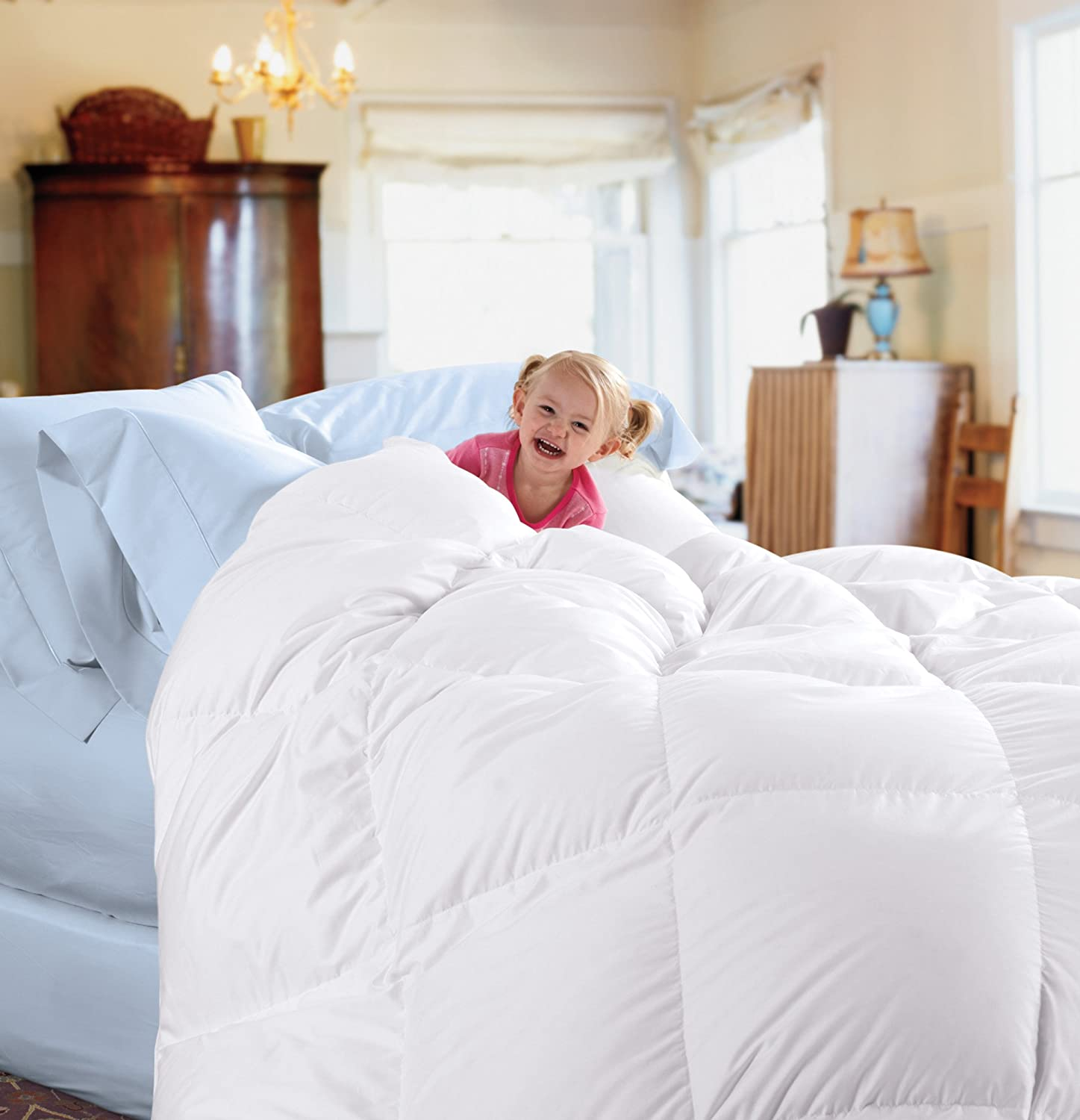 cuddle down 233tc down comforter review