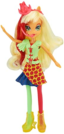 My Little Pony - Equestria Girls : Rainbow Rocks - Applejack - Poupée Mannequin 23 cm