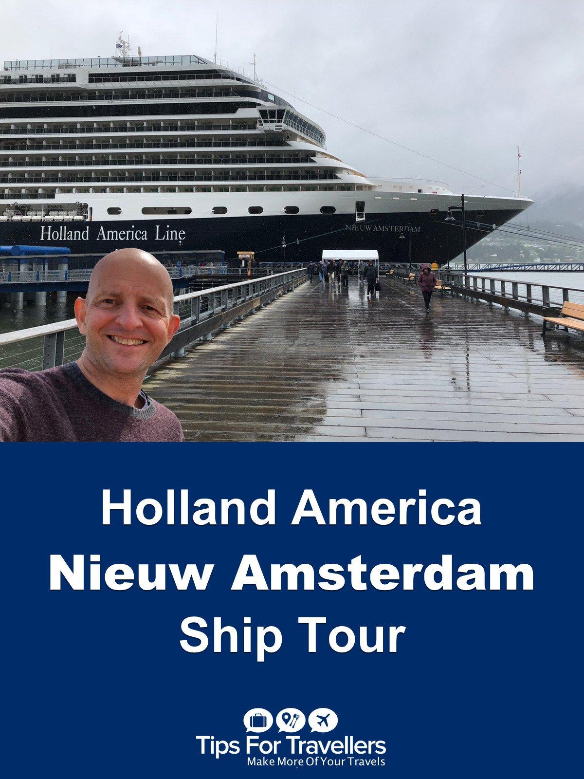 Clip: Holland America Nieuw Amsterdam Ship Tour