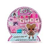 L.O.L. Surprise Confetti Nail Art by Horizon Group USA