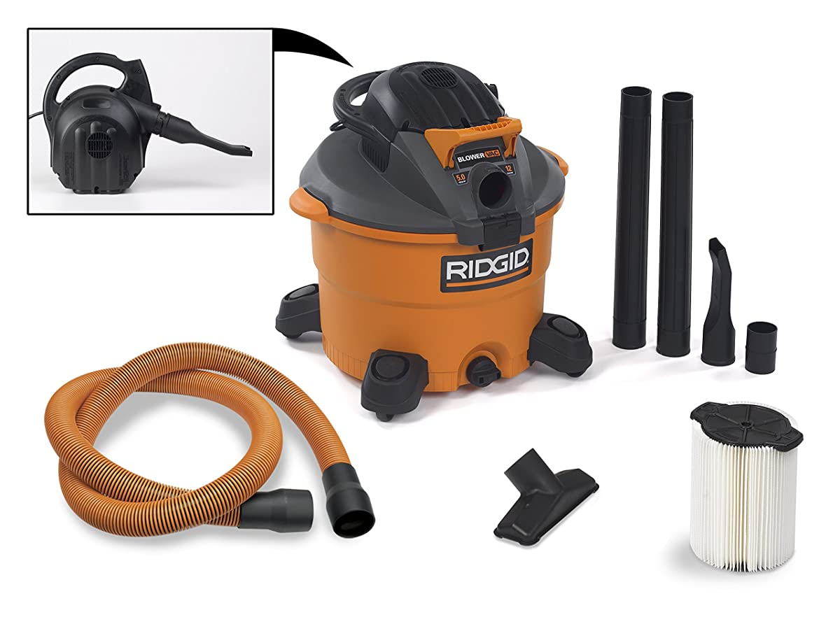 Ridgid Wet Dry Vacuums Vac1200 Heavy Duty Wet Dry Vacuum