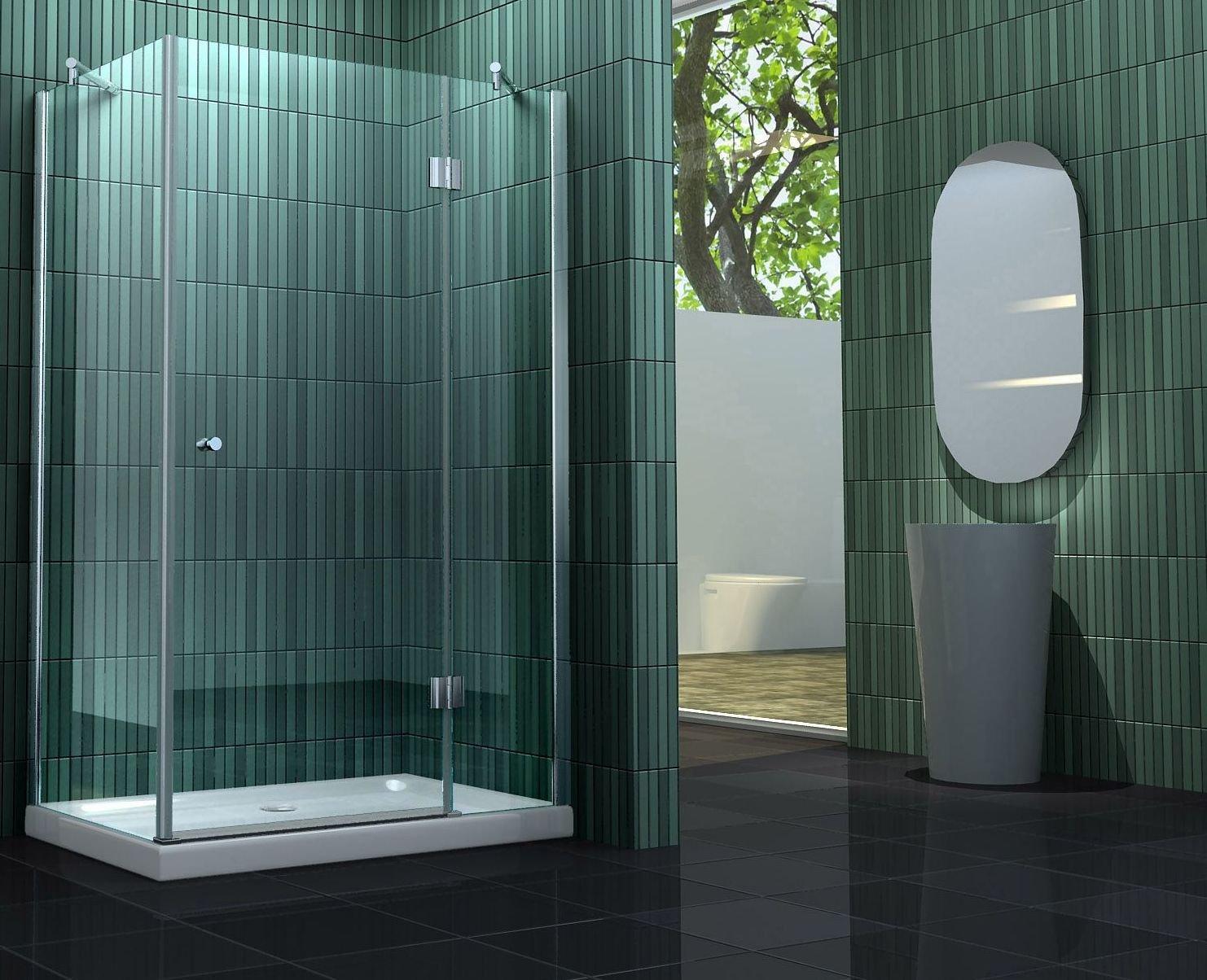 Duschkabine SILL 90 x 75 cm ohne Duschtasse  Kundenberichte und weitere Informationen