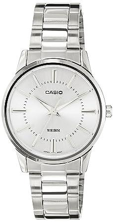 Casio Enticer Analog Silver Dial Men