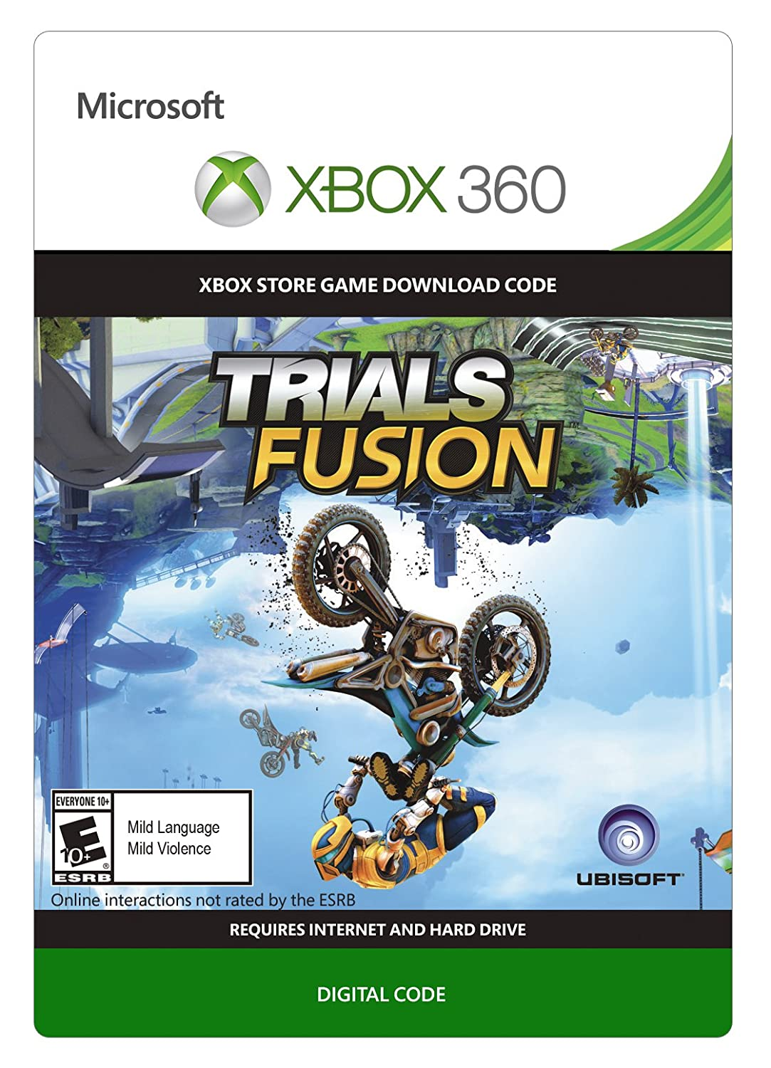 Trials Fusion - Xbox 360 [Digital Code]