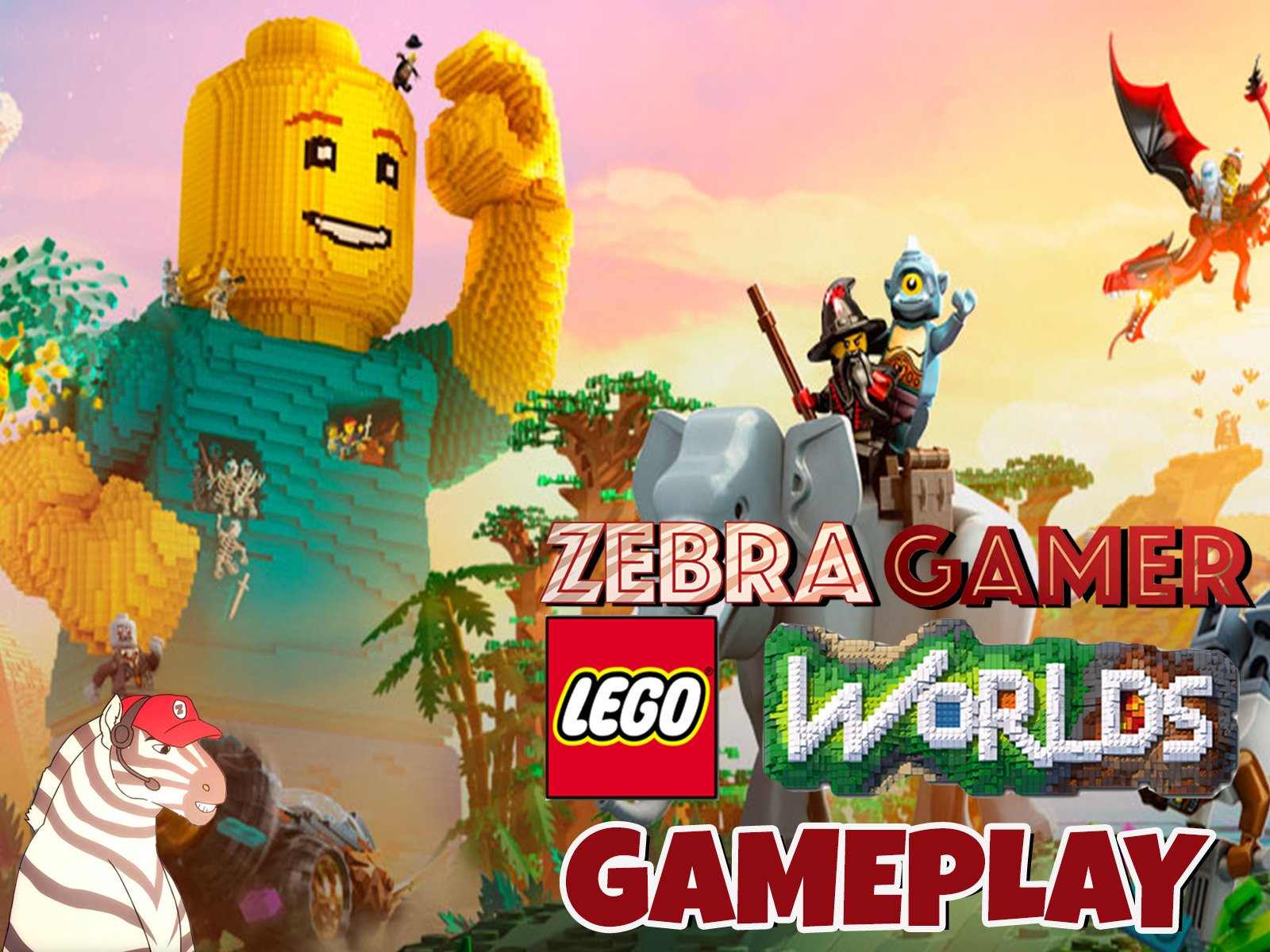 Clip: Lego Worlds Gameplay - Season 1