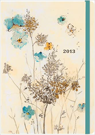 2013 Watercolor Flowers 16-month Weekly Planner (Compact Engagement Calendar)