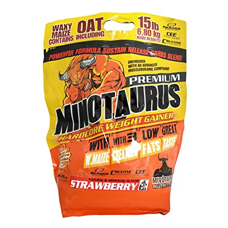 Minotaurus Nutrition Minotaurus 6,8kg Beutel Weight Gainer (Strawberry)