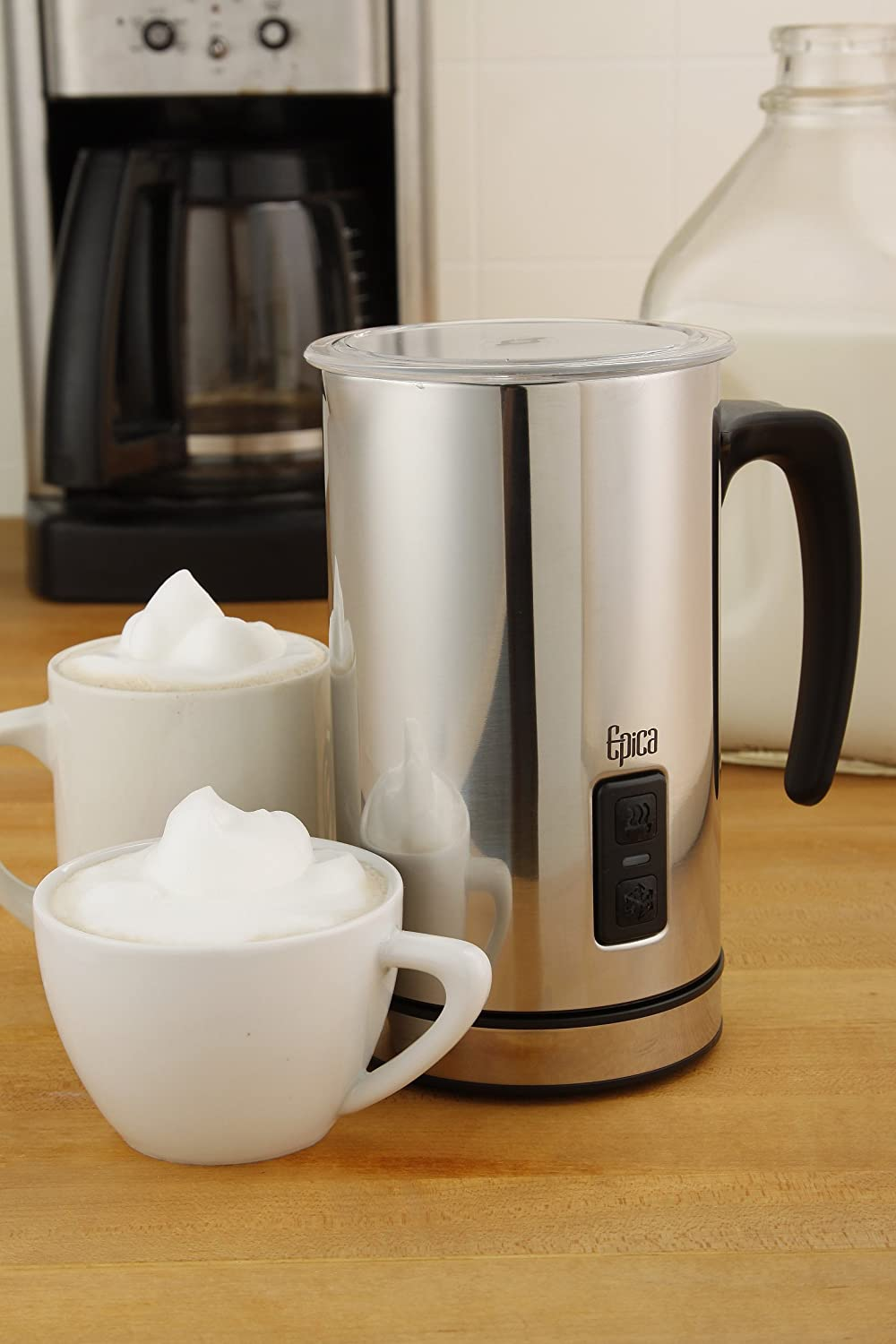 Epica Automatic Electric Milk Frother and Heater Carafe #Review & #Recipes #scrf Visit Shady's Contests, Reviews, and Freebies at http://paulams.weebly.com/blog.html