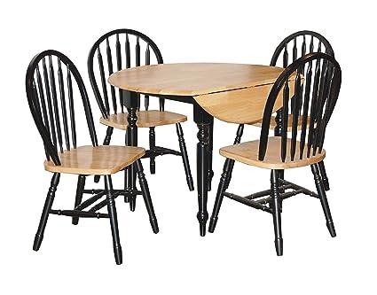 TMS 5-Piece Drop Leaf Dining Set