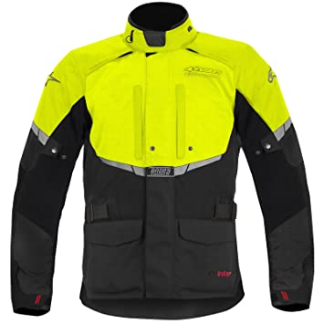 Alpinestars - Veste - ANDES DRYSTAR - Couleur : Black/yellow - Taille : XL