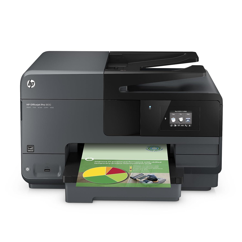 HP Officejet Pro 8610 Inkjet Multifunction Printer (A7F64A#B1H)
