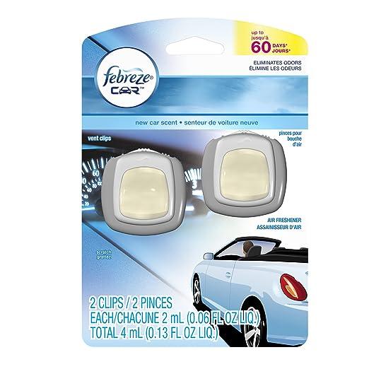 Febreze Car Vent Clips New Car Air Freshener