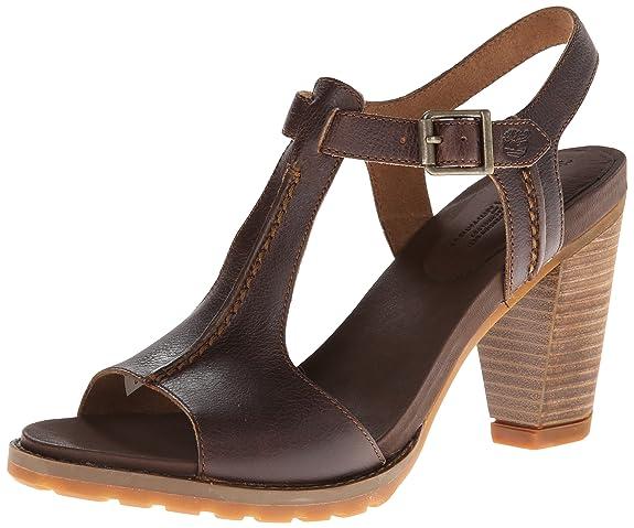 Timberland 添柏岚 Stratham HGTS 女士高跟凉鞋$39.93(约¥360)