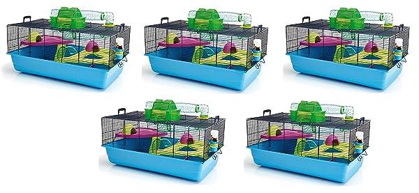 Lixit Animal Care Savic Hamster Heaven Metro Cage (5-Pack) (Tamaño: 5-Pack)
