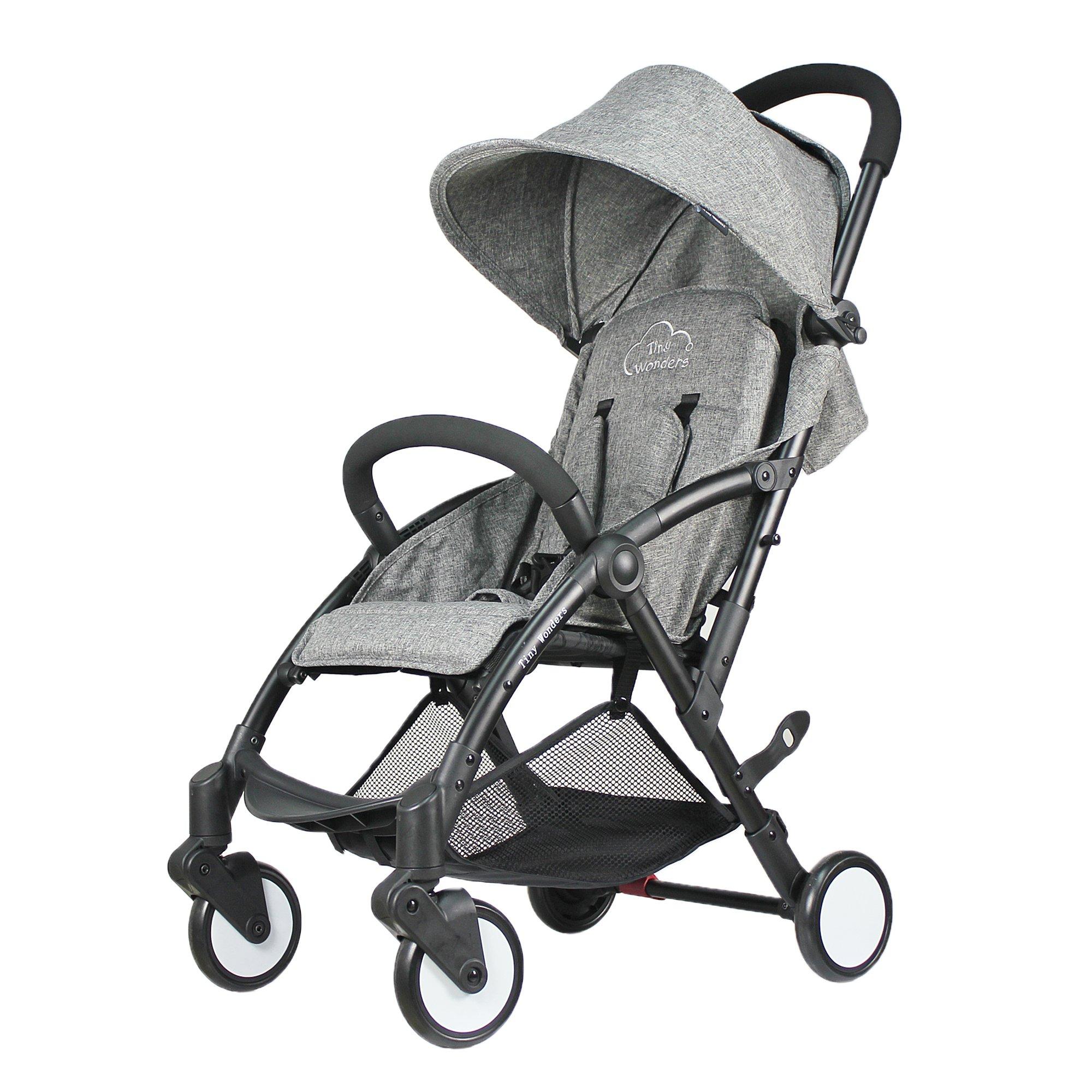 Gray Baby Stroller