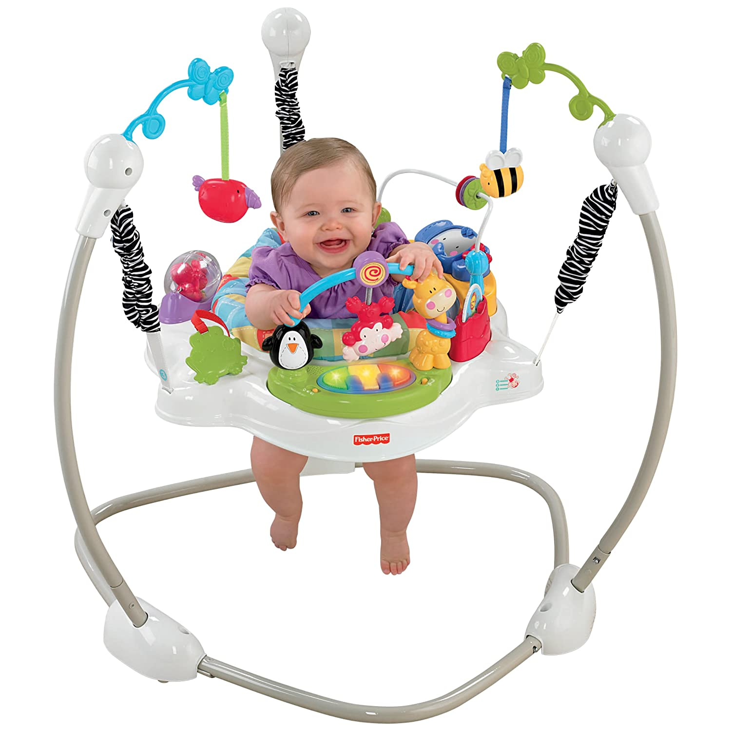 Fisher Price Discover and n Grow Jungle Piano Jumper Jumperoo Bouncer Gym NIB | eBay