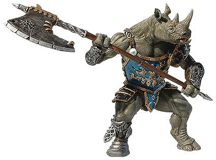 Papo - 38946 - Figurine - Homme Rhinocéros