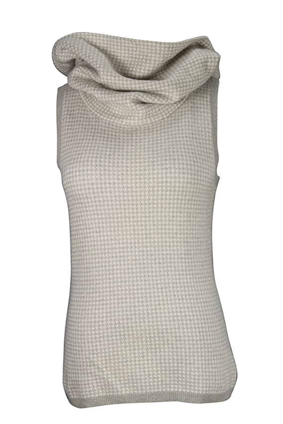 Ralph Lauren Black Label Ivory Cashmere Women's Sweater Size M US Regular