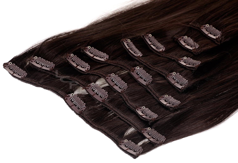 Clip In Extensions Haarverlängerung XXL