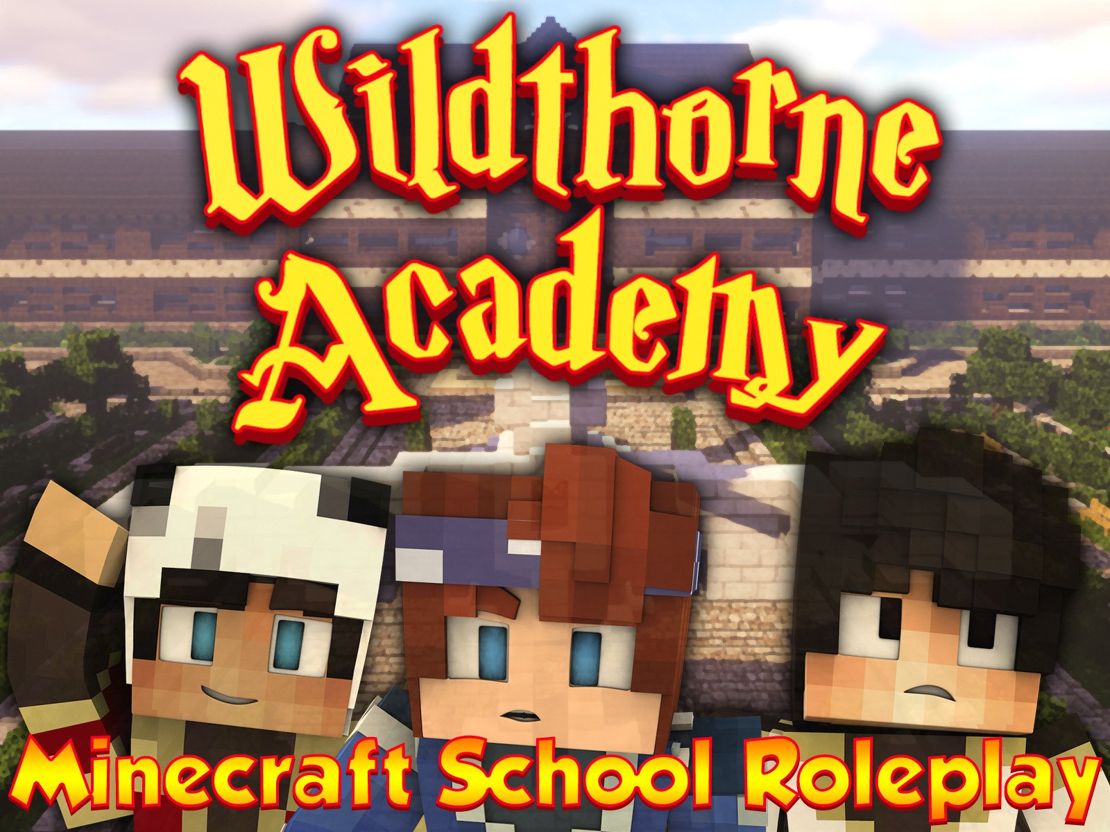 Clip: Wildthorne Academy (Minecraft School Roleplay)