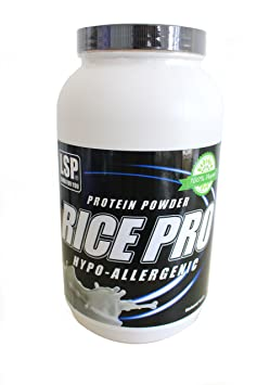 LSP Rice Pro (Reis Protein 100% Vegan) Neutral, 1er Pack (1 x 1 kg)