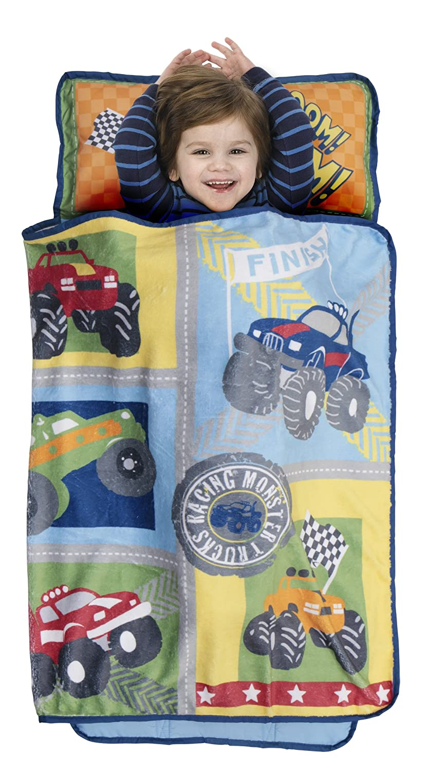 Baby Boom Monster Trucks Nap Mat