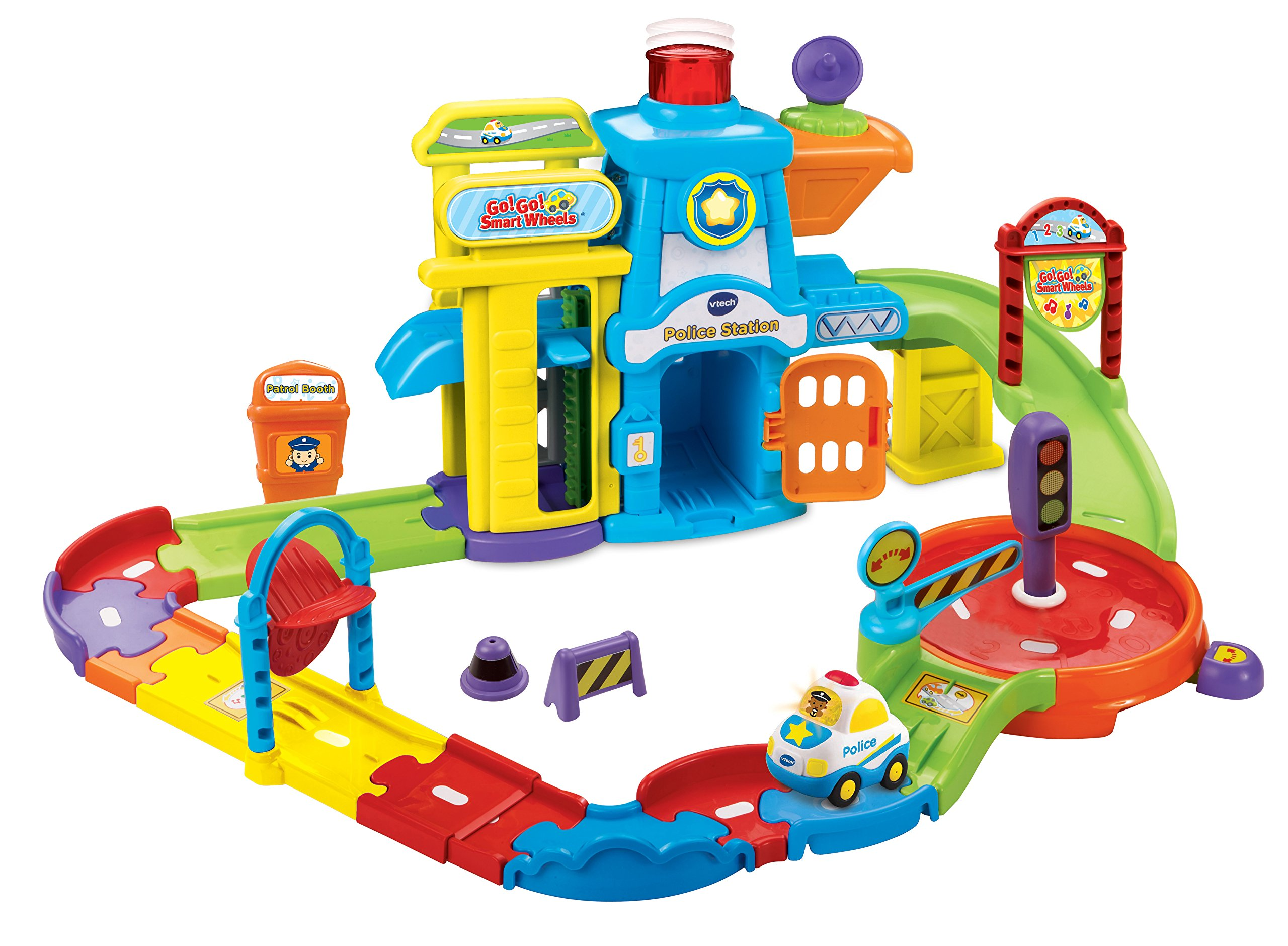 Vtech Go Go Smart Wheels Police Station Playset Vtech