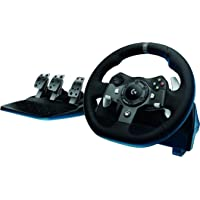 Logitech G920 Driving Force Racing Wheel for Xbox One (Black) + Driving Force Shifter