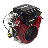 Briggs & Stratton 305447-3079-G1 479cc 16.0 Gross HP Vanguard V-Twin Engine with 1-Inch Diameter X 2-29/32-Inch Length Crankshaft, Tapped 3/8-24 (Tamaño: 32 Inch)