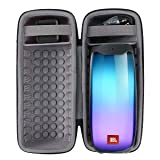 co2crea Hard Travel Case for JBL Pulse 4 Waterproof Portable Bluetooth Speaker (Black Case) (Color: Black Case)