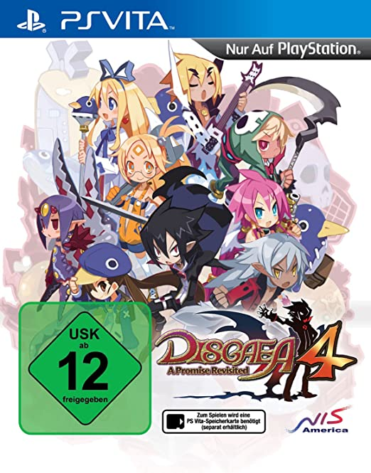 Disgaea 4: A Promise Revisited, PS Vita
