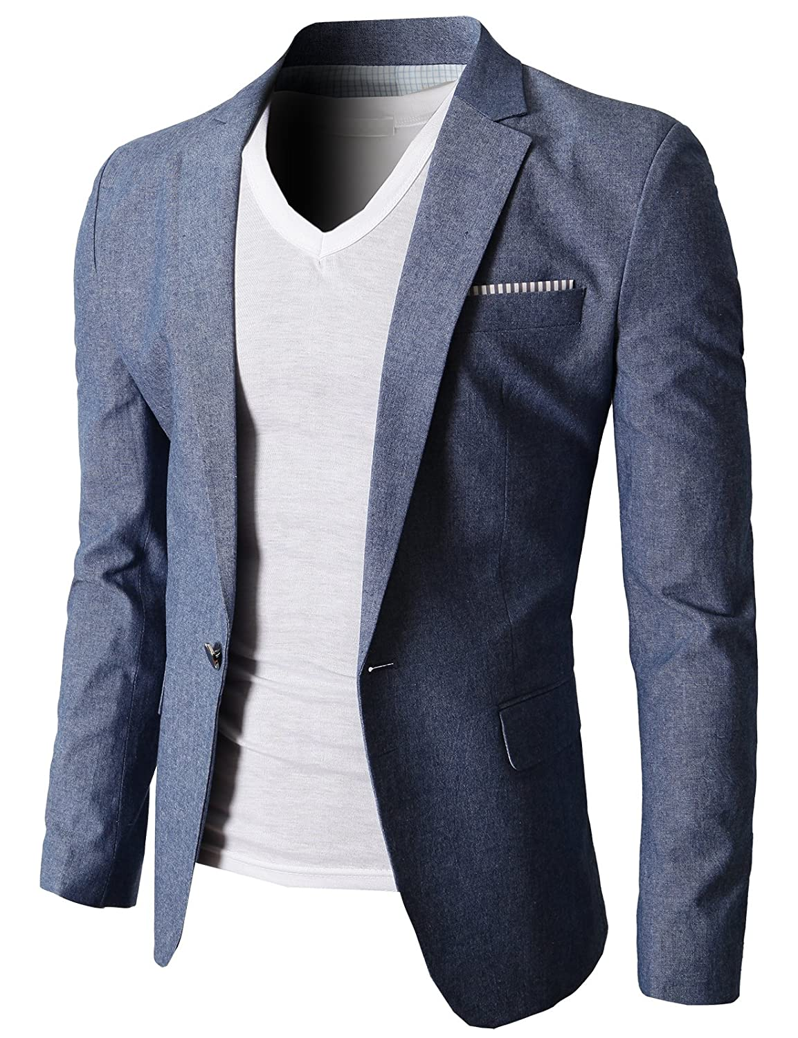 Jacket required? Cool. Our collection of men's blazers, sport coats and suit vests has something for every guy to wear to pretty much every occasion, whether it's superformal or downright casual.