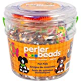Perler Beads Pet Pals Assorted Fuse Bead Bucket, 8504 pcs